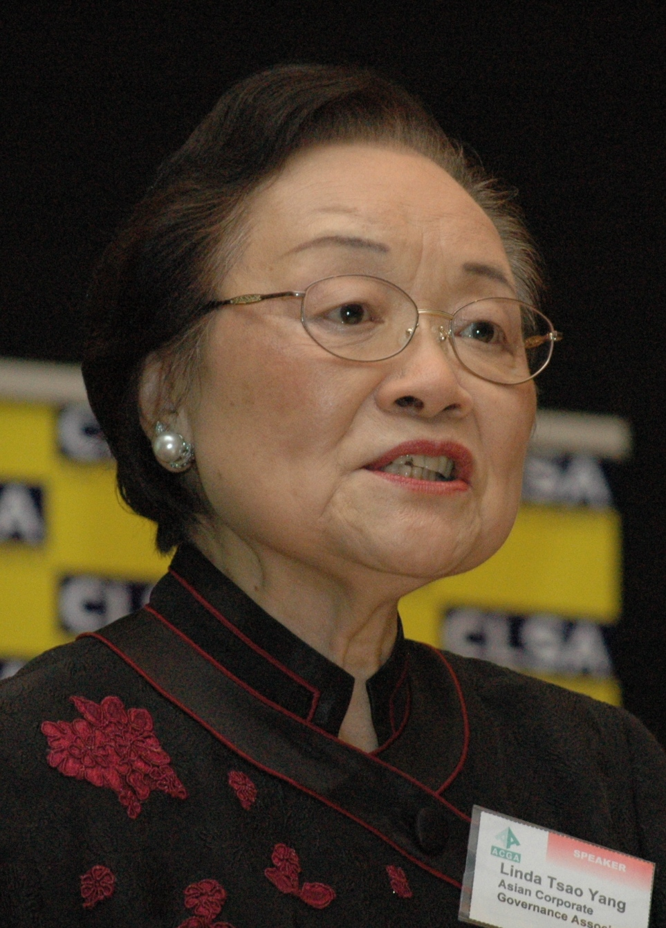 Ambassador Linda Tsao Yang